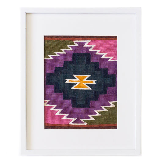 Peruvian Wall Hanging - Violet Chakana || Keeka Collection