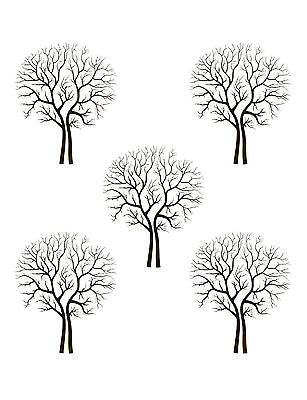 Large Tree design Wall Stencil - Reusable 10 mil mylar Stencil Reusable Pattern