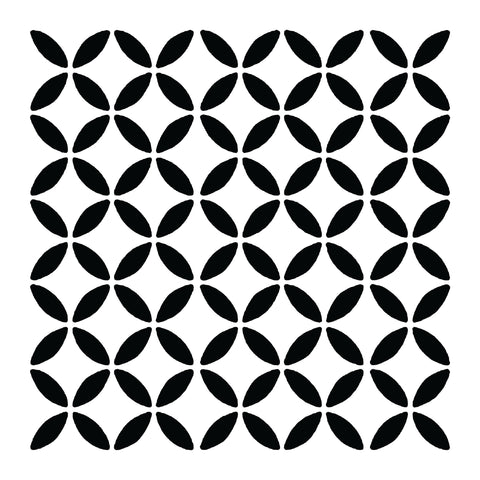 Geometric Circles - 10 Mil Clear Mylar -Reusable Stencil Pattern