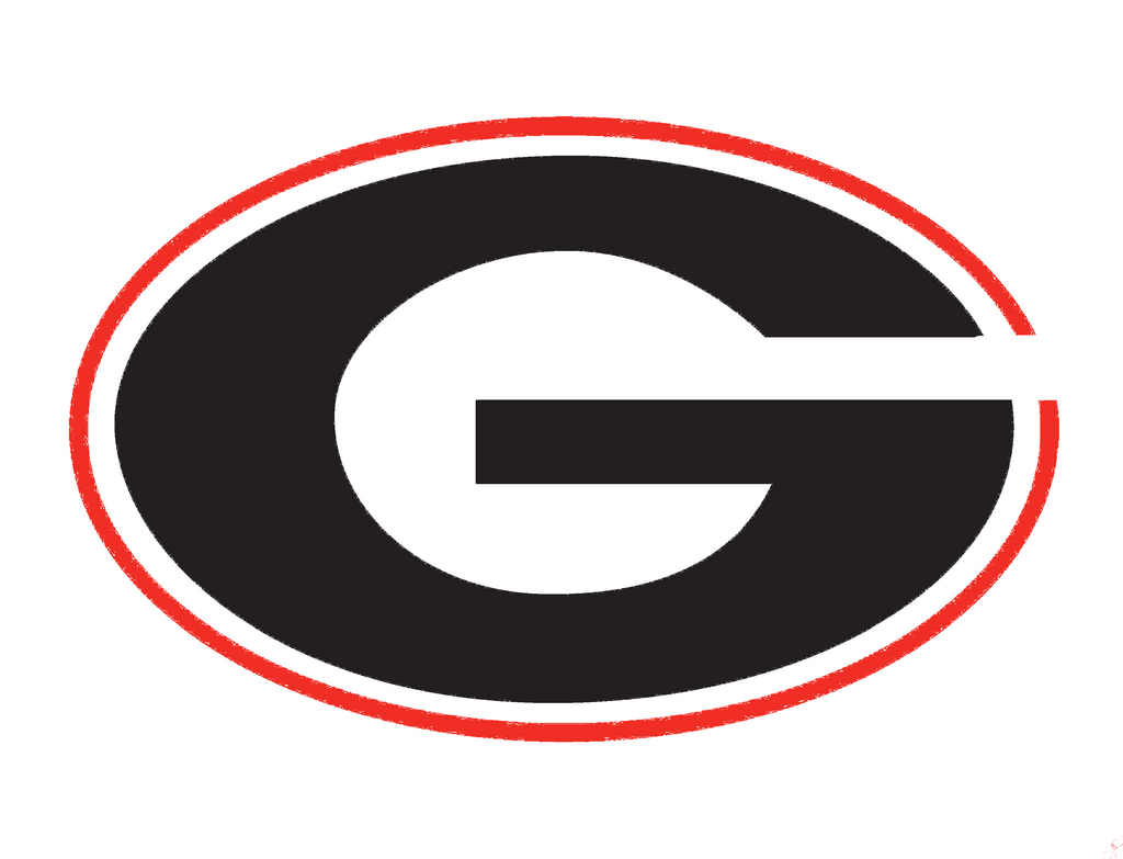 University of Georgia logo stencil - Reusalble Pattern - 10 Mil Mylar
