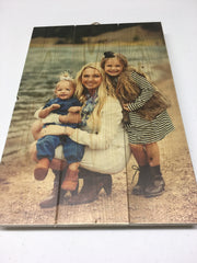 Pictures printed on Wood