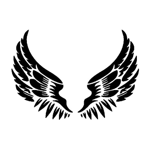 Wings - High Quality Reusable Stencil on 10 mil Mylar