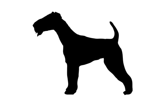 Airedale  - High Quality Stencil 10 mil -  Reusable Patterns