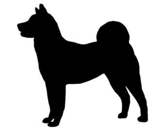 Akita - High Quality Stencil 10 mil -  Reusable Patterns
