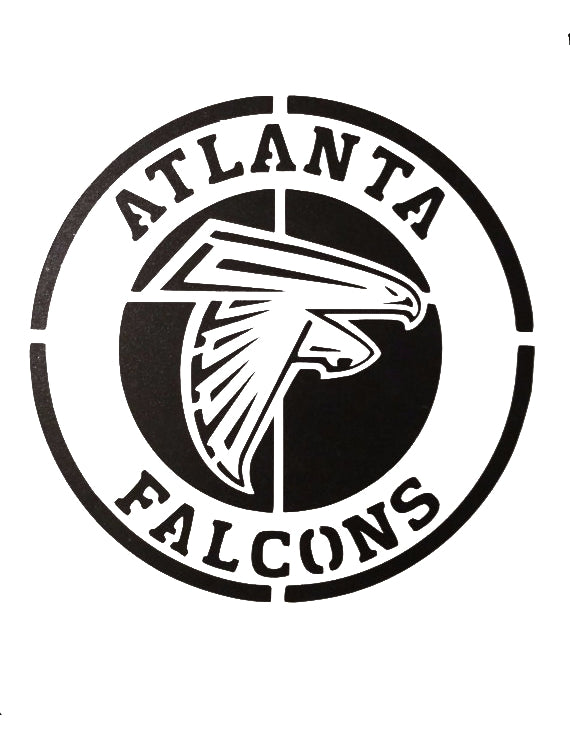 Atlanta Falcons Stencil