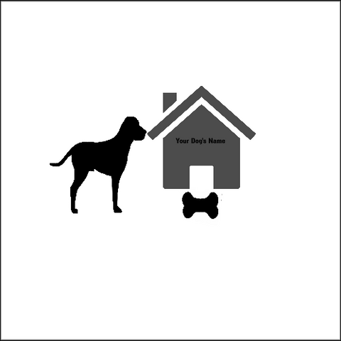 Dog house with Bone and Dog5