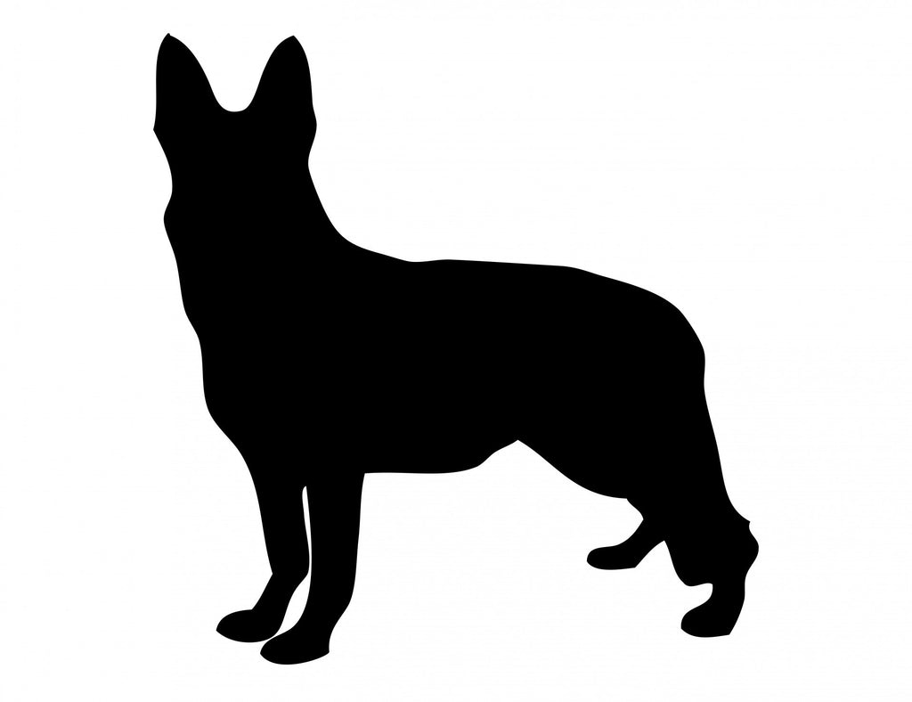 German Shepperd - High Quality Stencil 10 mil -  Reusable Patterns