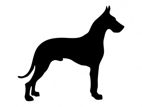 Great Dane  - High Quality Stencil 10 mil -  Reusable Patterns