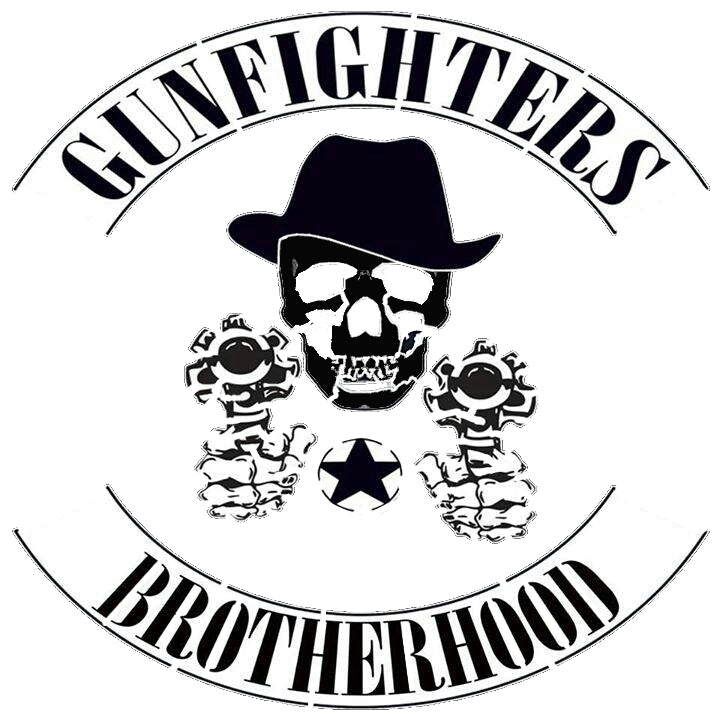 Gunfighter Skeleton Stencil