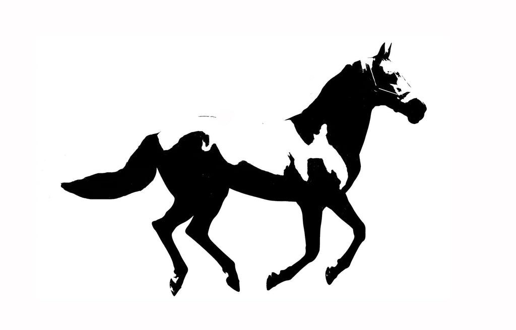 Horse - Buck Stencil - High Quality Stencil 10 mil -  Reusable Patterns
