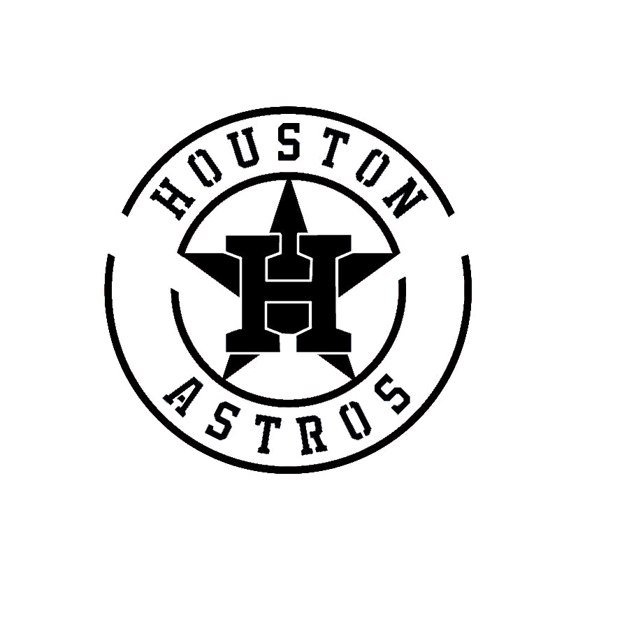Houston Astro Stencil set