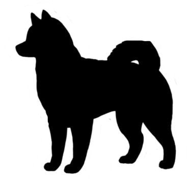 Alaskan Malamute - High Quality Stencil 10 mil -  Reusable Patterns