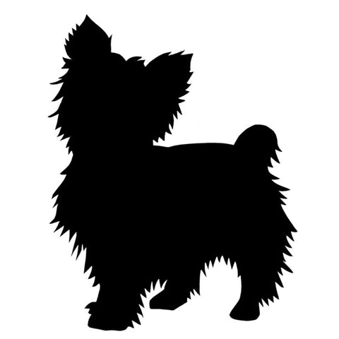 Yorkshire Terrier - High Quality Stencil 10 mil -  Reusable Patterns