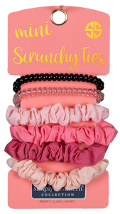 Mini Scrunchie Ties