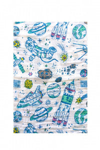 Space Travel Swaddle Blanket