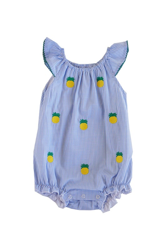 Gingham Pineapple Bubble