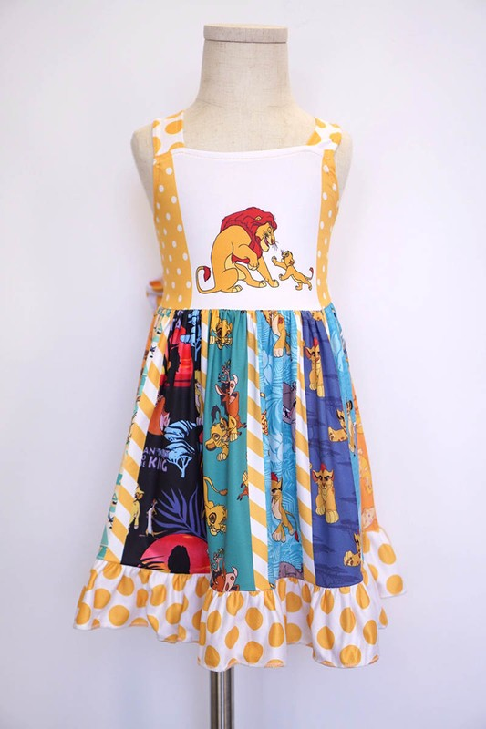 Lion King Swirl Dress