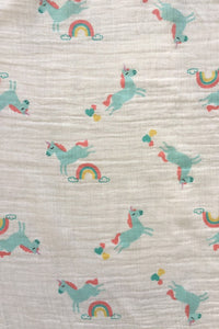 Magical Unicorn Swaddle Blanket