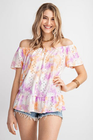 Subtle Starburst Top