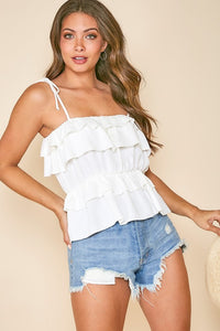 Werk It Ruffle Top