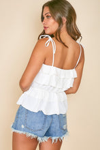 Load image into Gallery viewer, Werk It Ruffle Top