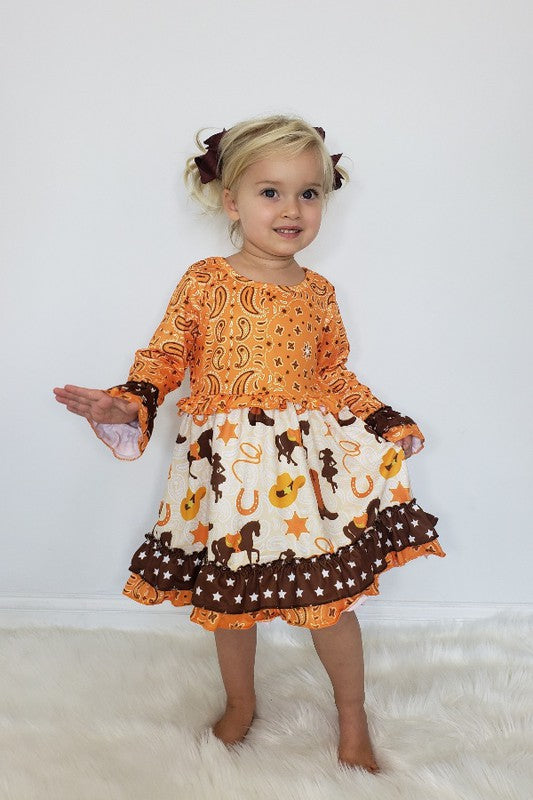 Cowgirl Girls Dress