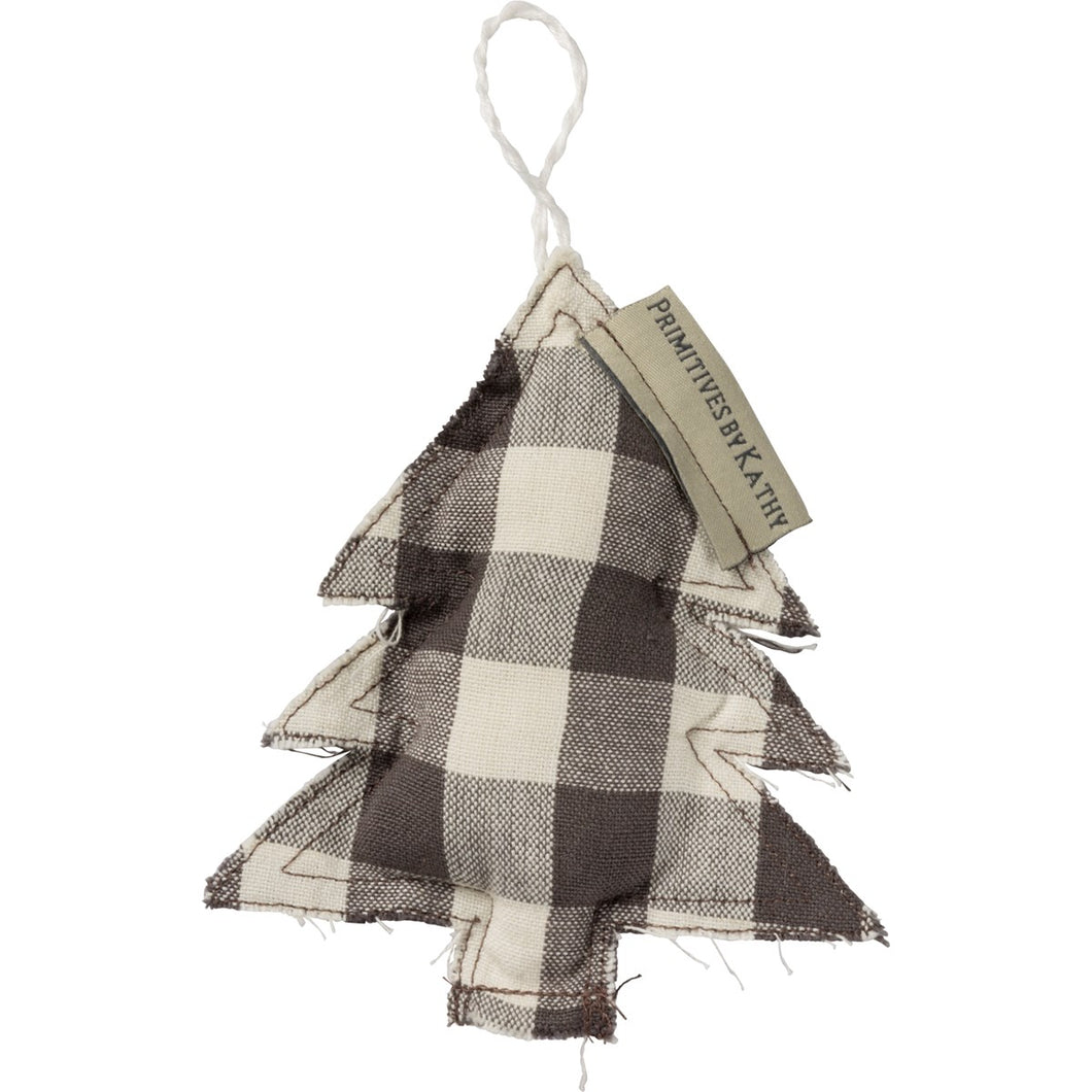Buffalo Check Tree Ornament