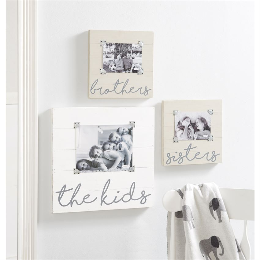 Oversize White Wash The Kids Frame