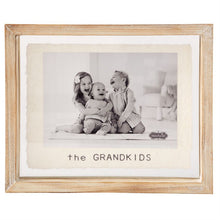 Load image into Gallery viewer, Glass Grandkids Frame