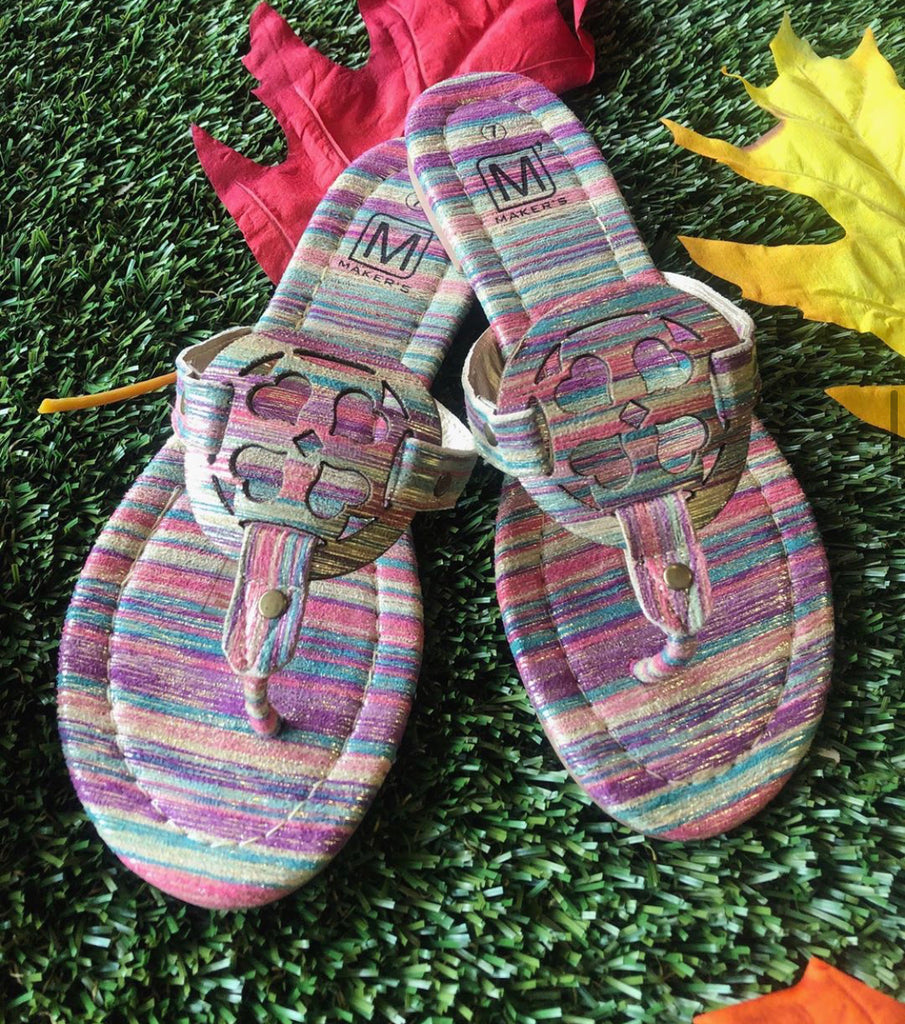 Multi Color Sadie Sandal