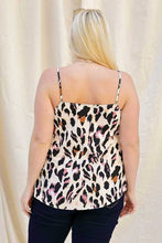 Load image into Gallery viewer, Curvy Cardin Leopard Tank