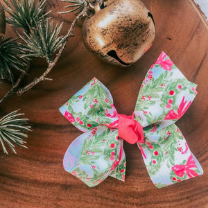 Little Royal Lilly Christamas Bow