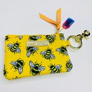 SS ID Coin Purse-Bee