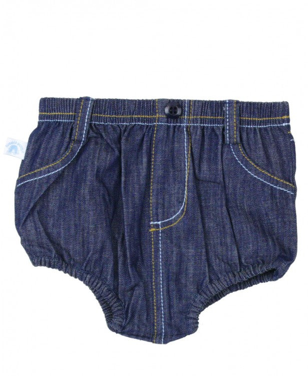 2 Pocket Denim Bloomer