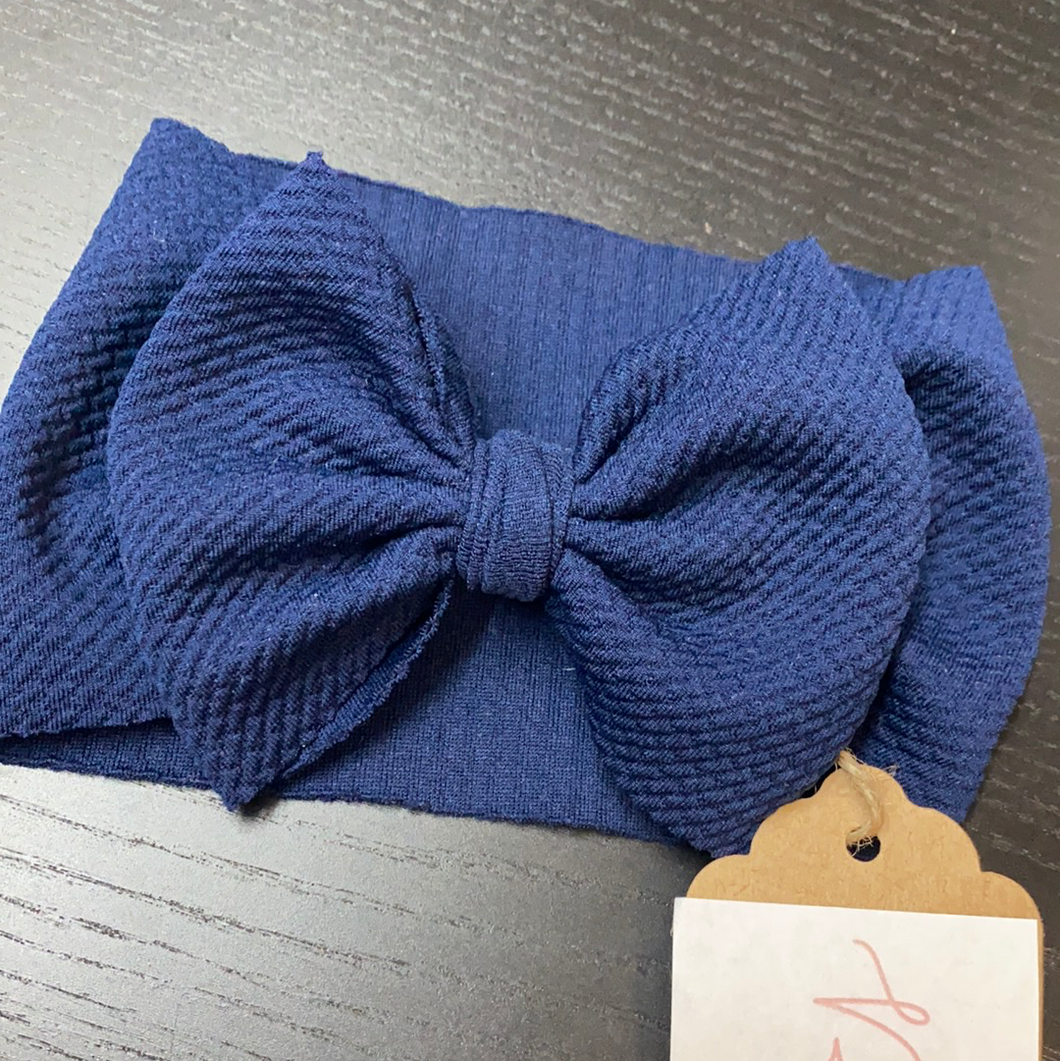 Little Royal Headwrap-Navy