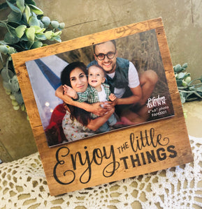 Natural Little Things Frame