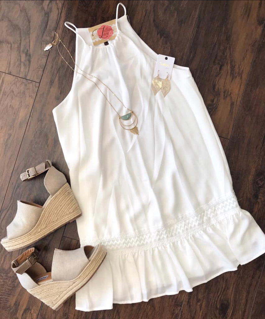 Sweet Bliss White Dress