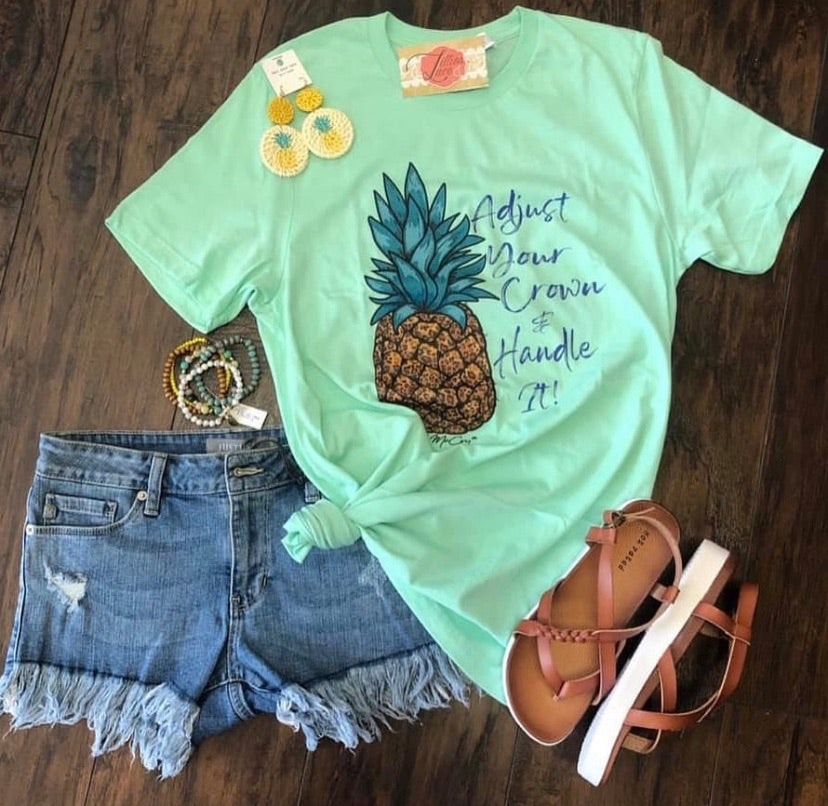Mint Crown Tee