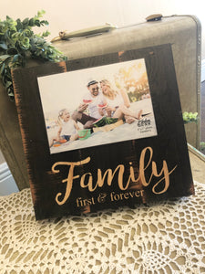 Family First & Forever Frame