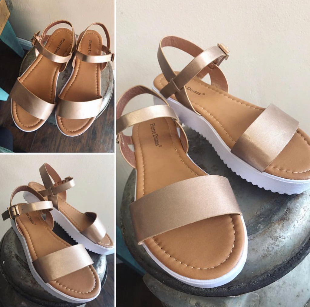 Rose Gold Susa Sandal