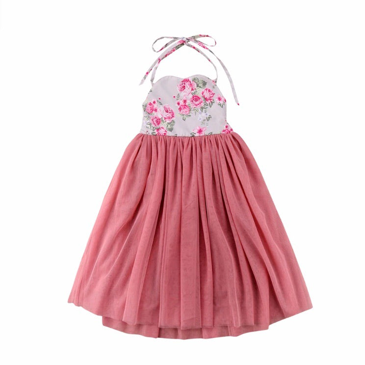 Floral Sweetness Tulle Dress