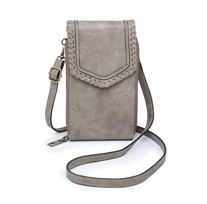 Carter Crossbody-Stone