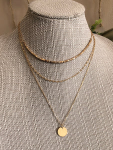 Coined Layer Necklace