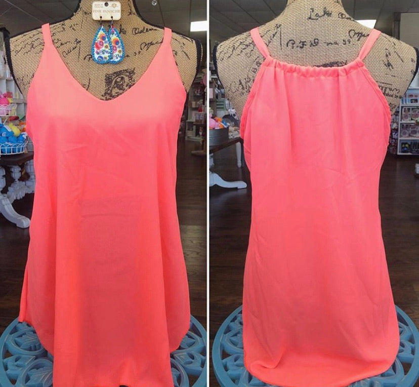 Neon Caribbean Coral Tank