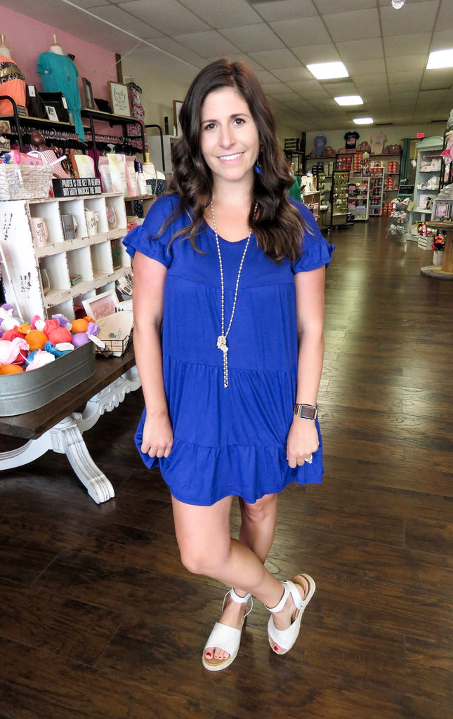 Jess Jersey Tiered Dress