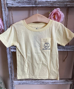 Toddler Tarpon Tee-Yellow