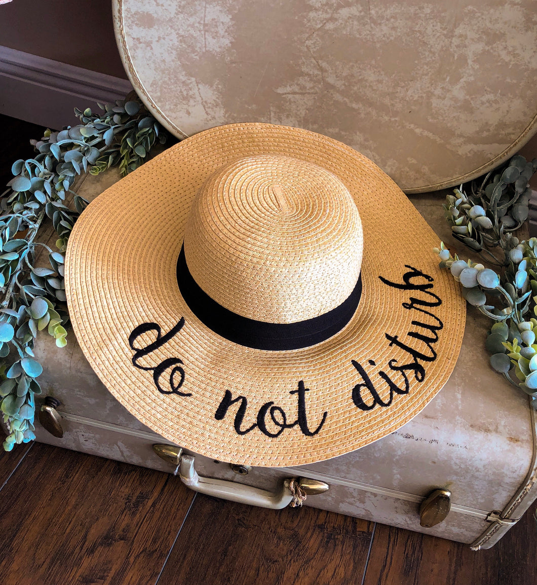 CC Do Not Disturb Sun Hat