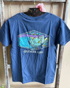 Youth Tarpon Tee-Slate