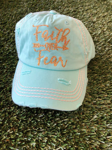 Distressed Graphic Hat