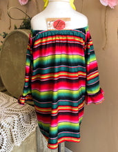 Load image into Gallery viewer, Serape Sweetheart Dress